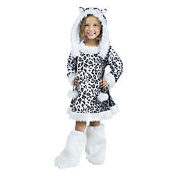 Snow Leopard Child's Halloween Costume