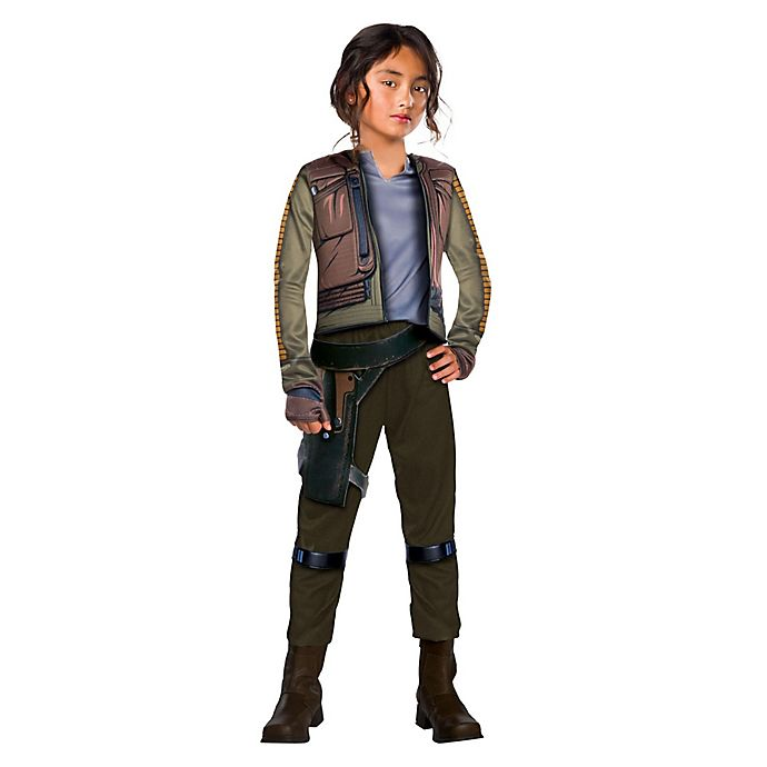 Alternate image 1 for Rogue One Jyn Erso Commander Deluxe Medium Child's Halloween Costume