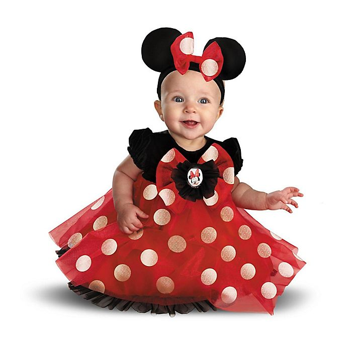 Alternate image 1 for Disney® Minnie Mouse Infant Halloween Costume