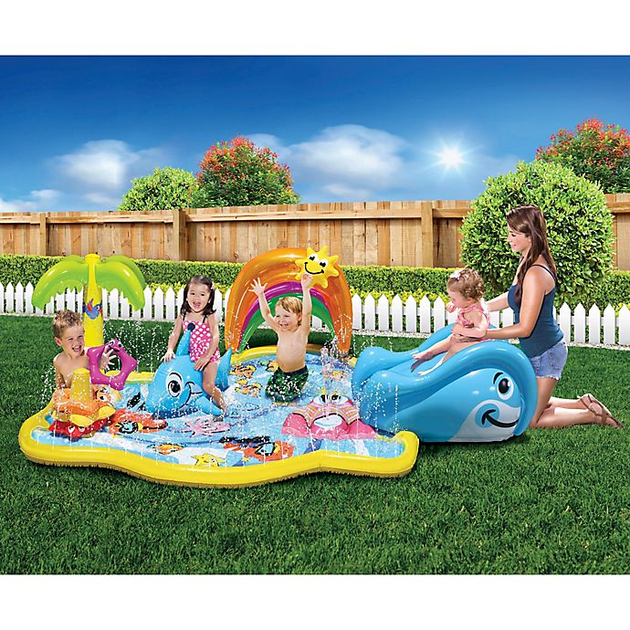 Banzai Splish Splash Water Park Multicolor