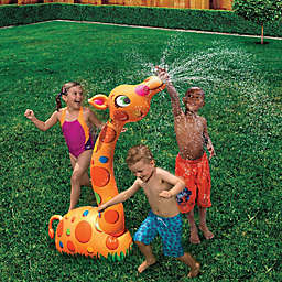 Banzai Silly Sprinkling Giraffe in Yellow