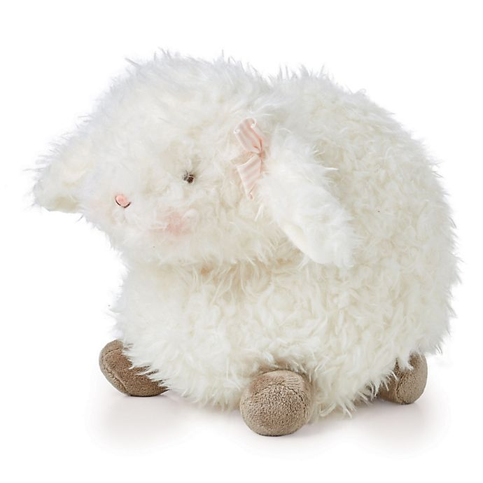 Alternate image 1 for Bunnies By The Bay™ Baa-bs Lamb Plush Toy in White
