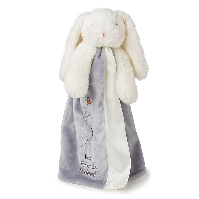 Alternate image 1 for Bunnies By The Bay™ Bloom Bunny Buddy Blanket in Grey