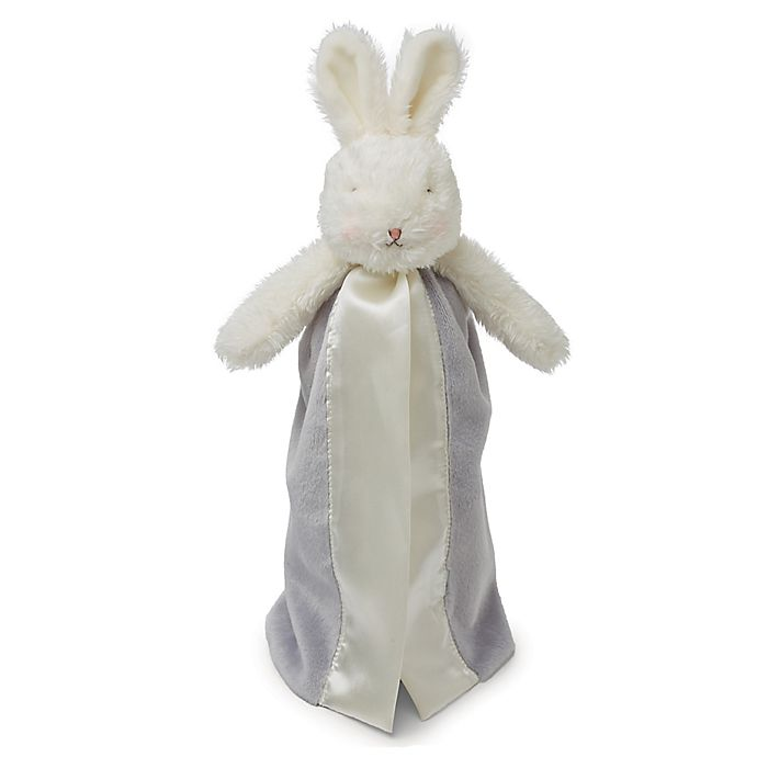 Alternate image 1 for Bunnies By The Bay™ Bloom Bunny Bye Bye Buddy in Grey