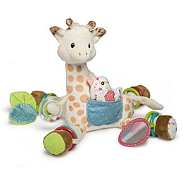 Mary Meyer Sophie la girafe® Activity Plush Toy in White/Brown