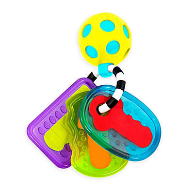 Sassy Drive 'n Drool Keys Peg Toy