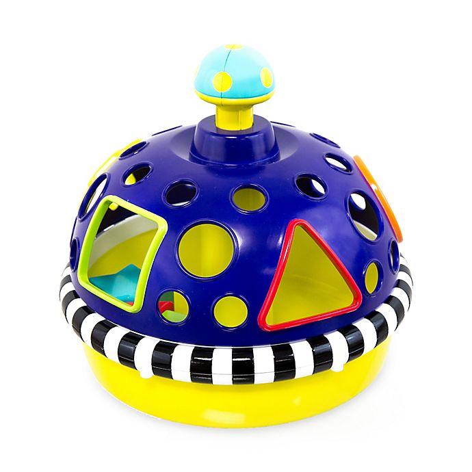 Alternate image 1 for Sassy Sort 'n Spin Shape Sorter Stem Toy