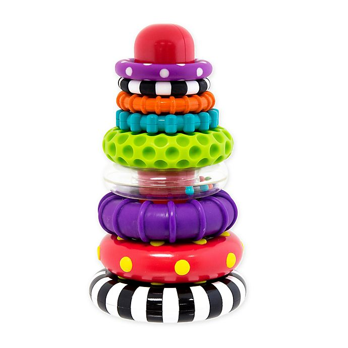 Alternate image 1 for Sassy Stack of Circles Stem Toy