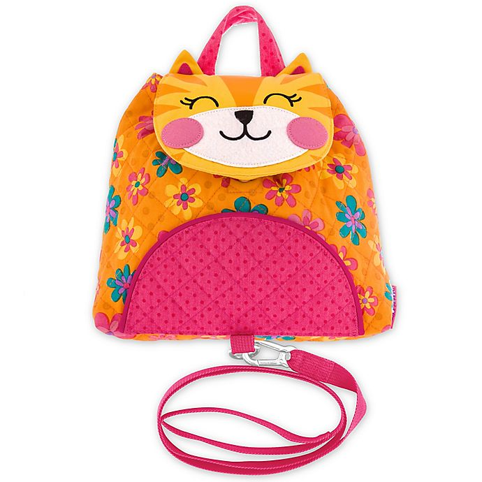 Alternate image 1 for Stephen Joseph® Cat Little Buddy Bag with Safety Harness