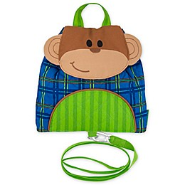 Stephen Joseph® Monkey Little Buddy Bag with Safety Harness
