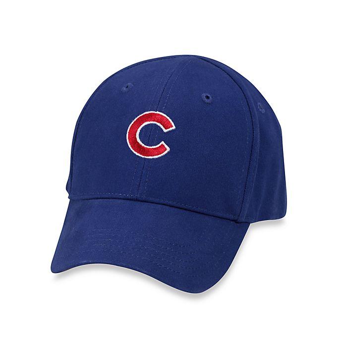 Alternate image 1 for Infant Replica Baseball Cap - Cubs