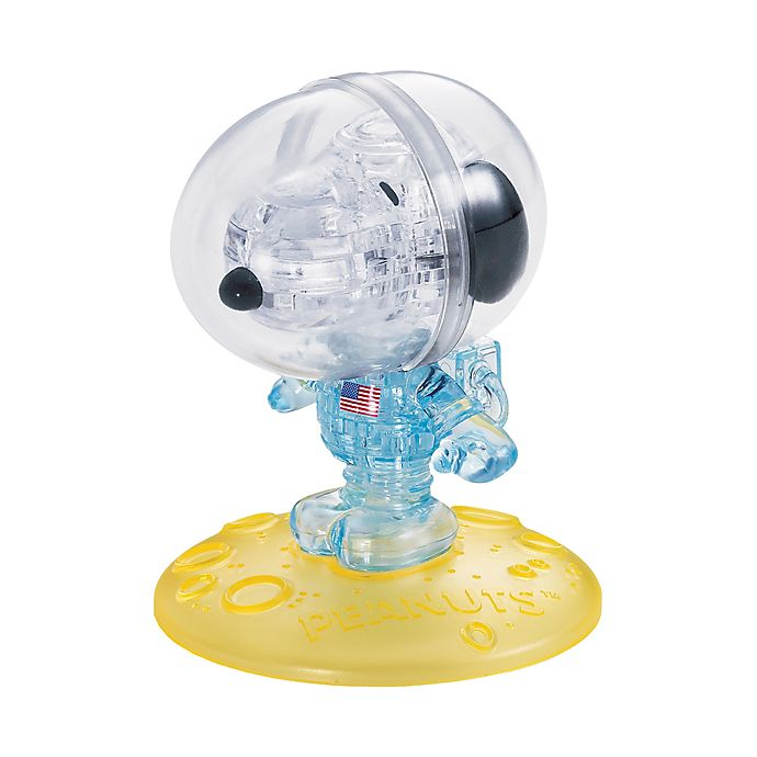 Alternate image 1 for BePuzzled® 35-Piece Peanuts Astronaut Snoopy 3D Crystal Puzzle