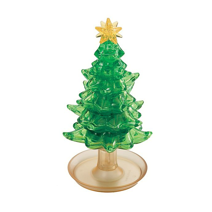 Alternate image 1 for BePuzzled® 69-Piece Christmas Tree 3D Crystal Puzzle