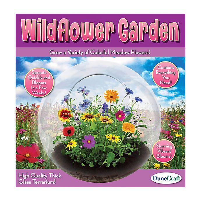 Alternate image 1 for DuneCraft  Wildflower Garden Glass Terrarium