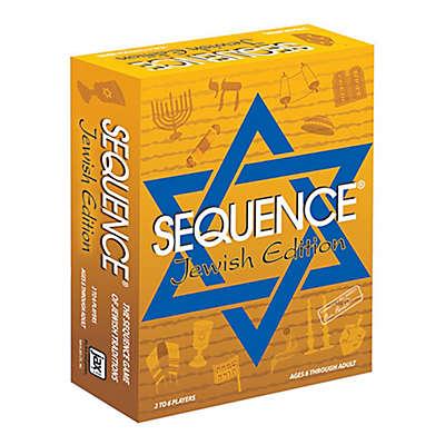 Jax Ltd. Sequence® Board Game-Jewish Edition
