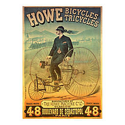 D-Toys Howe Bicycles Vintage Poster Jigsaw Puzzle