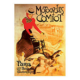 D-Toys Motorcycles Comiot Vintage Poster Jigsaw Puzzle