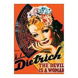 D-Toys Marlene Dietrich Vintage Poster Jigsaw Puzzle