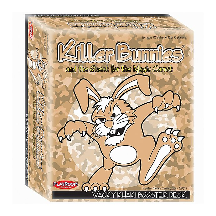 Alternate image 1 for Playroom Entertainment Killer Bunnies and the Quest for the Magic Carrot: Officer Rank Deck in Tan