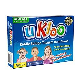 uKloo Riddle Edition Treasure Hunt Game