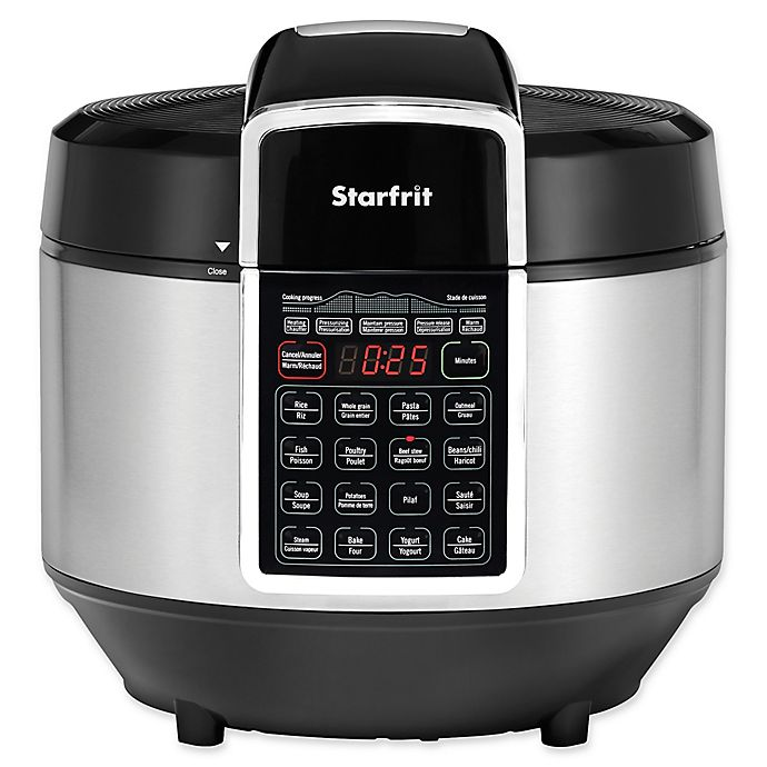 Alternate image 1 for Starfrit Electric Pressure Cooker in Black