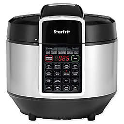 Starfrit Electric Pressure Cooker in Black