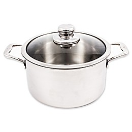 Swiss Diamond® Premium Clad Stainless Steel 6.7 qt. Covered Dutch Oven