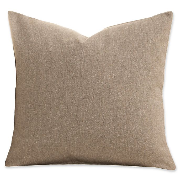 Alternate image 1 for SIScovers® Neutralize Peat 20-Inch Square Throw Pillow in Taupe