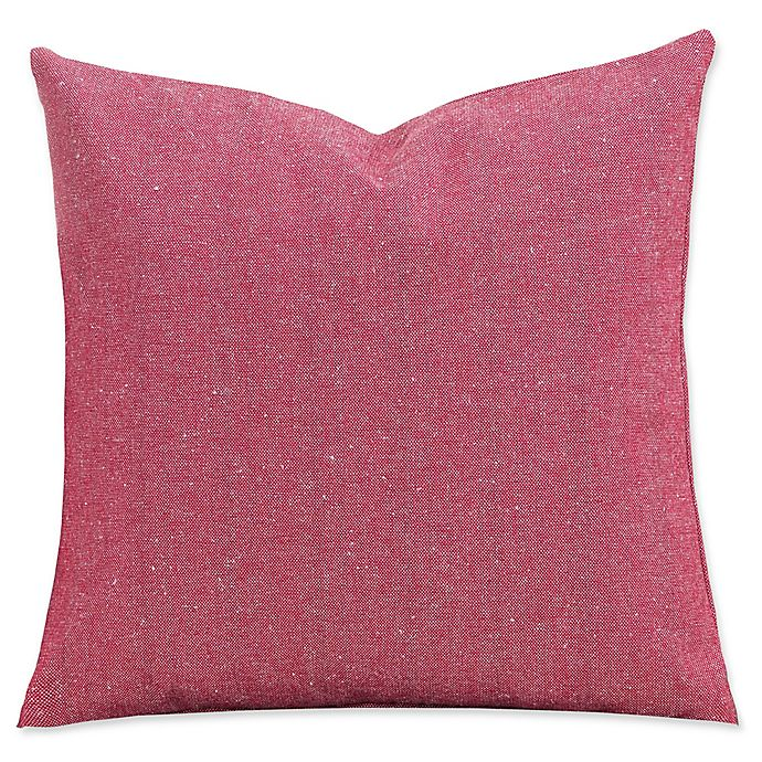 Alternate image 1 for SIScovers® Red Barn 20-Inch Square Throw Pillow in Red