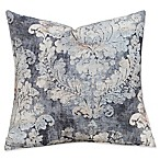 SIScovers® Cindersmoke 20-Inch Square Throw Pillow in White/Grey