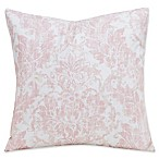 SIScovers® Parlour 20-Inch Square Throw Pillow in Pink/Beige
