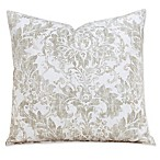 Parlour Drift 16-Inch Square Throw Pillow in Tan/Off White