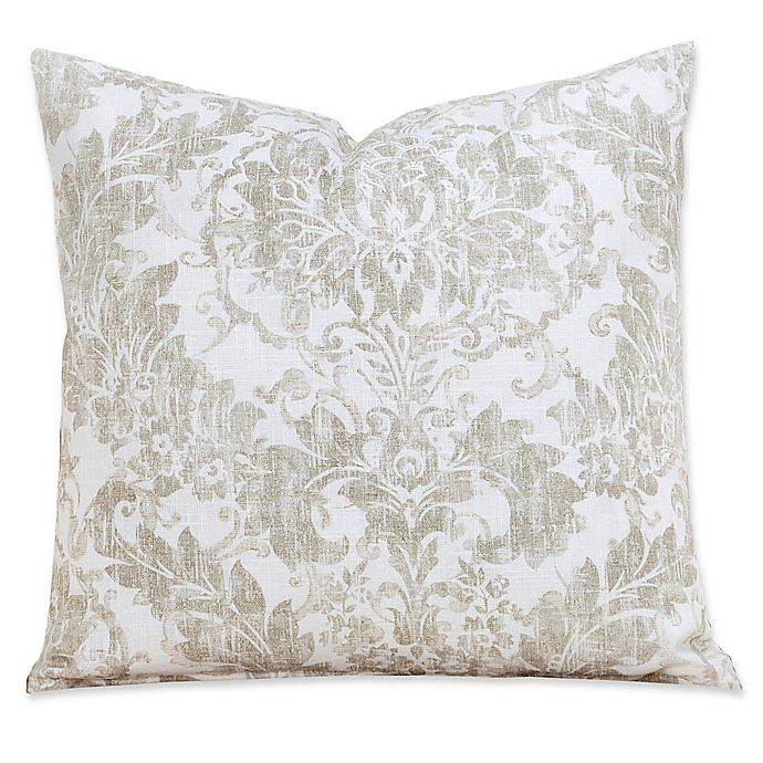 Alternate image 1 for Parlour Drift Square Throw Pillow Collection in Tan/Off White
