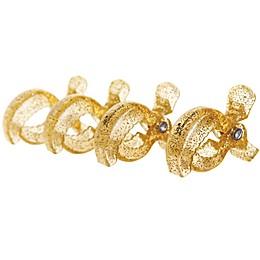 Dreambaby® Strollerbuddy® Stroller Blanket Clips in Gold Glitter (Set of 4)