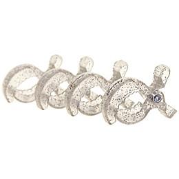 Dreambaby® Strollerbuddy® Stroller Blanket Clips in Silver Glitter (Set of 4)