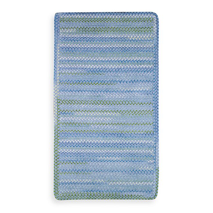 Alternate image 1 for Sailor Boy Rectangle Sea Monster  5-Foot x 8-Foot Room Size Rug in Deep Blue
