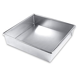Bare Aluminum Bakeware by USA Pan 9-Inch Square Cake Pan