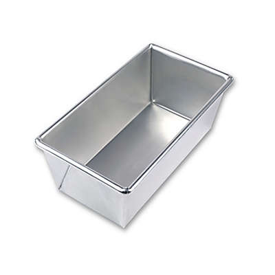 Bare Aluminum Bakeware by USA Pan 4.5-Inch x 8.5-inch Loaf Pan