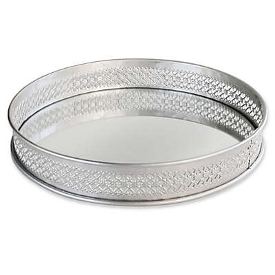 Charge It By Jay 15-Inch Round Serving Tray