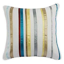 Ami McKay Dotty Striped Square Throw Pillow