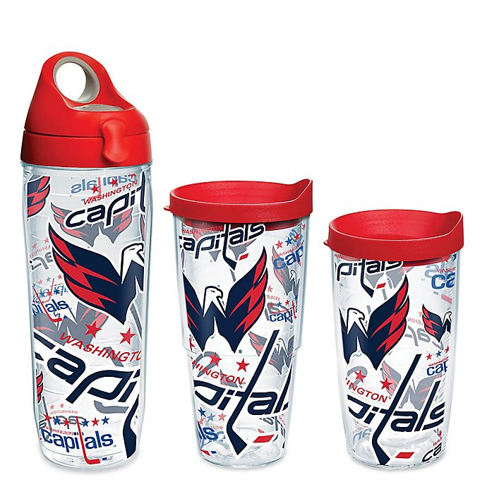 Alternate image 1 for Tervis® NHL Washington Capitals Allover Wrap Drinkware With Lid