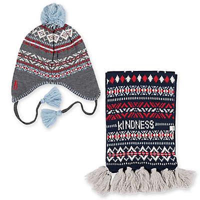 ED Ellen DeGeneres Fair Isle Winter Knit Accessories