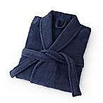 Martex Medium Terry Unisex Bath Robe in Navy