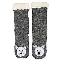 ED Ellen DeGeneres Sherpa-Lined Bear Slippers