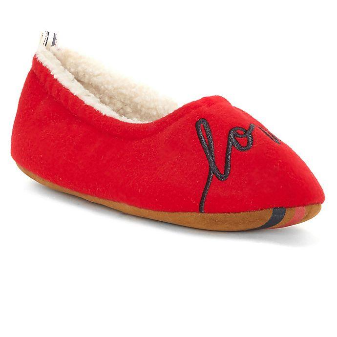 Alternate image 1 for ED Ellen DeGeneres Bailene Small Slippers in Red