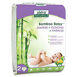 Aleva® Naturals Bamboo Baby® 30-Count Size 2 Diapers