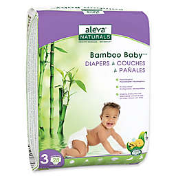 Aleva® Naturals Bamboo Baby® 28-Count Size 3 Diapers
