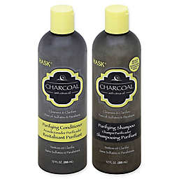 Hask® Charcoal Purifying Shampoo and Deep Conditioning with Citrus Oil Hair Care Collection