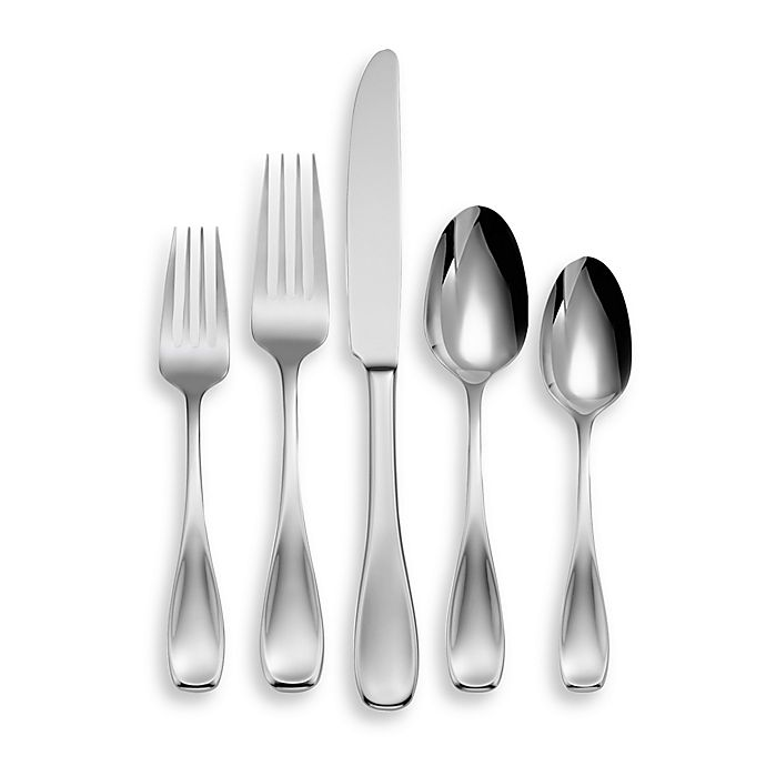 Alternate image 1 for Oneida® Voss 45-Piece Flatware Set