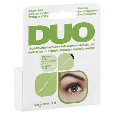Duo® .18 oz. Striplash Adhesive with Vitamins in White /Clear